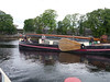 Many of the old barges have been refurbished for river cruising on the SHANNON.