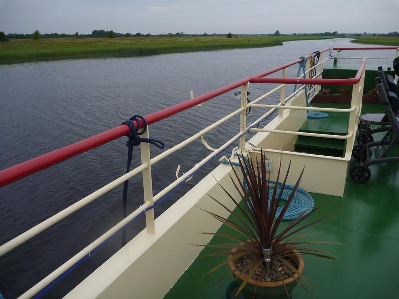 "The Shannon River ""Callows"" or flood plain. dead flat!"