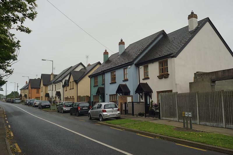 Ballyboughal main street houses