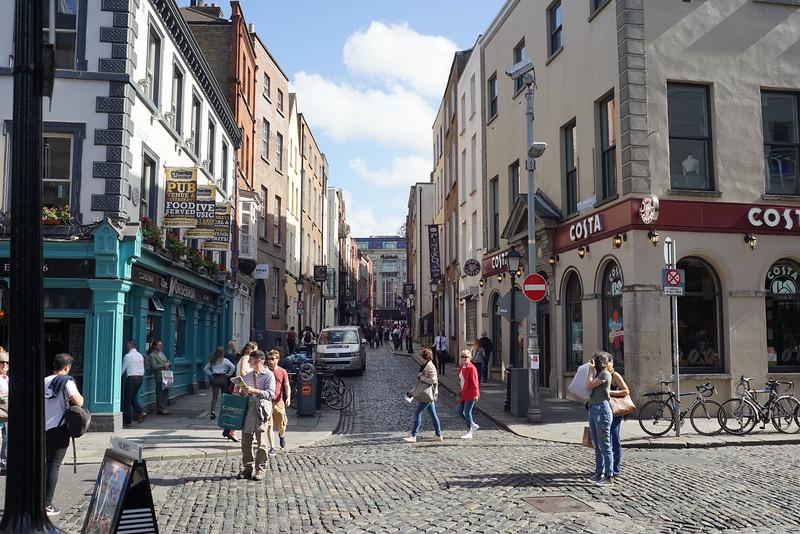 More narrow streets