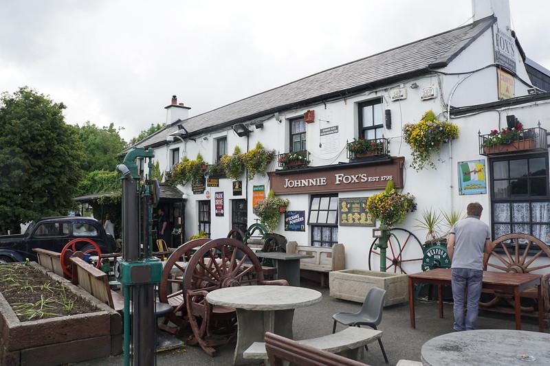 Johhnie Fox the highest elevation bar in Ireland
