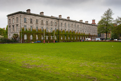 Trinity College in Dublin, Ireland.