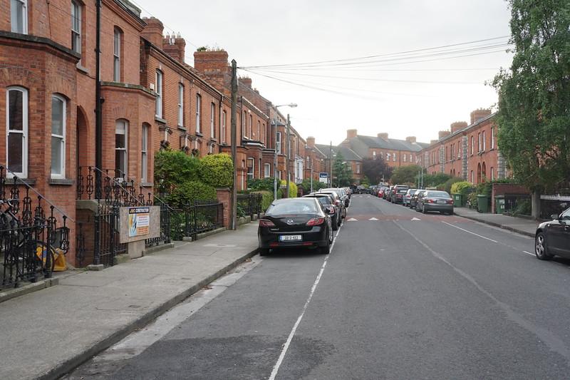 Janes street in Dublin