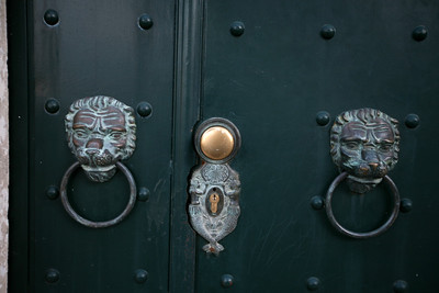 Door Handles, The Old City of Dubrovnik, Croatia