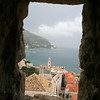 The Old City of Dubrovnik through the City Wall<br /> <br /> Croatia