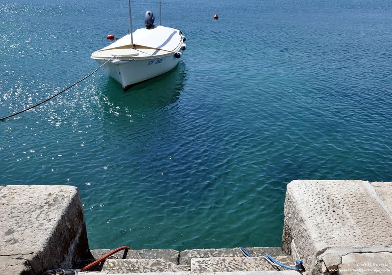 Tethered Boat, Cavtat