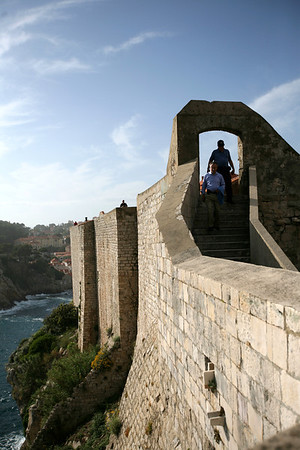 City Wall of the Old City of Dubrovnik, Croatia