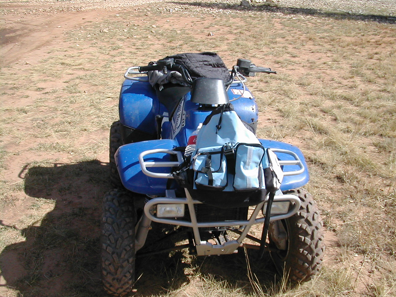 There nice little ATVs. I like the trail rider type. No clutch and really comfortable to ride.<br /> These are the Trailboss 300's. If I  owned them I would opt for the Trailboss 800 or higher.
