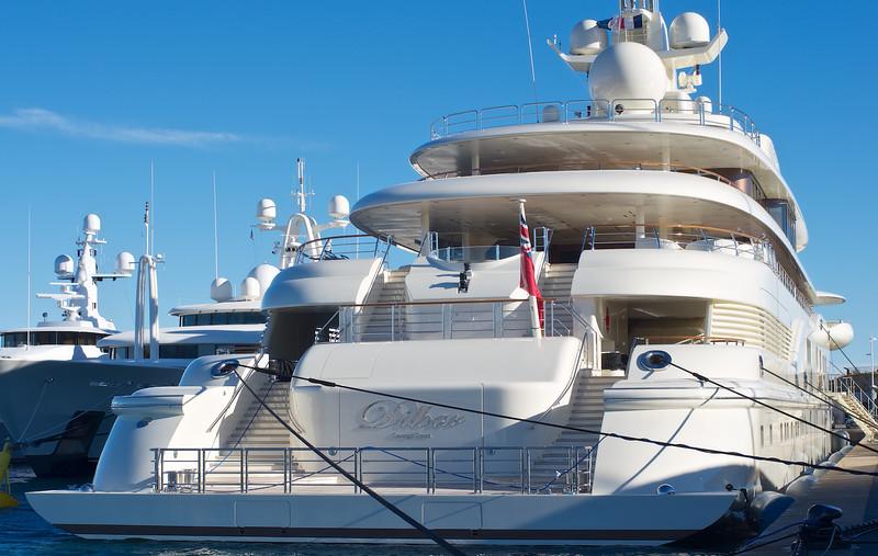 Dilbar motor yacht
