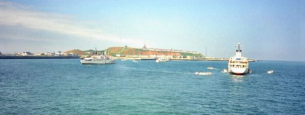 Boat trip to Helgoland