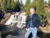 Upper falls at Gooseberry Park