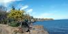 Gooseberry River where it flows into Lake Superior
