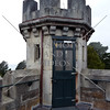 Tower at Larnach castle in Dunedin, New Zealand.