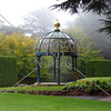 Gazebo at Larnach castle in Dunedin, New Zealand.