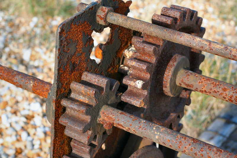 Part of boat winch, Dungeness
