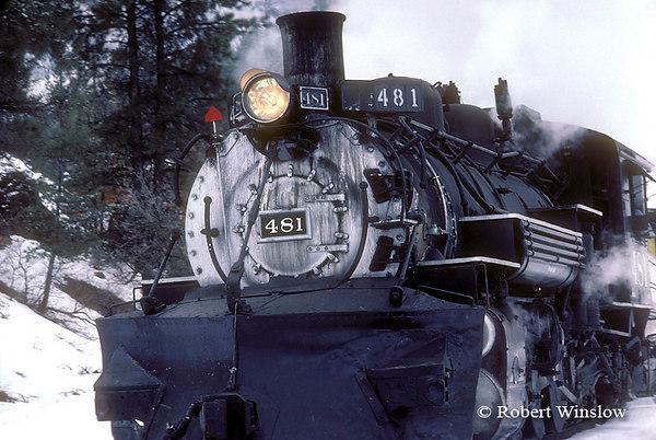 Winter, Durango and Silverton Narrow Gauge Railroad, Colorado