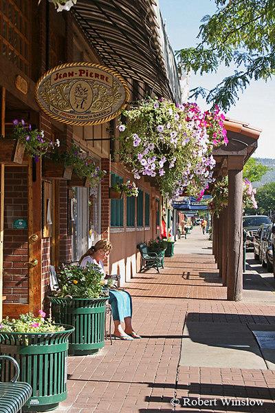 Main Avenue, Summer, Downtown Durango, Colorado