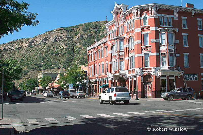 Strater Hotel, Main Avenue, Summer, Downtown Durango, Colorado