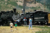 At Silverton, Durango and Silverton Narrow Gauge Railroad, Colorado, USA, North America