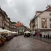 Cafes line most streets in the Old Town, Warsaw