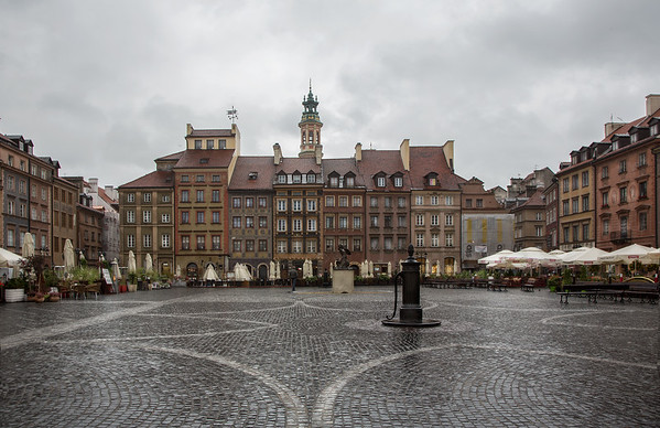 The Old Town Square, Warsaw