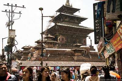 As with most Himalayan expeditions (including those of yore), the starting point is in Kathmandu.  Dusty, crowded and hot, a charming city in its own right.