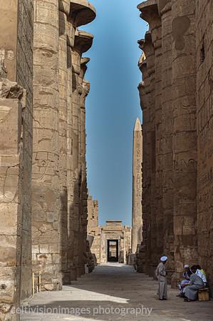 Temple of Karnak and Obelisk