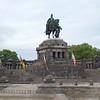 Rhine: Koblenz: Kaiser Wilhelm the Great memorial