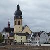 Rhine: Church in Sankt Sebastian