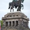 Rhine: Koblenz: Kaiser Wilhelm the Great statue