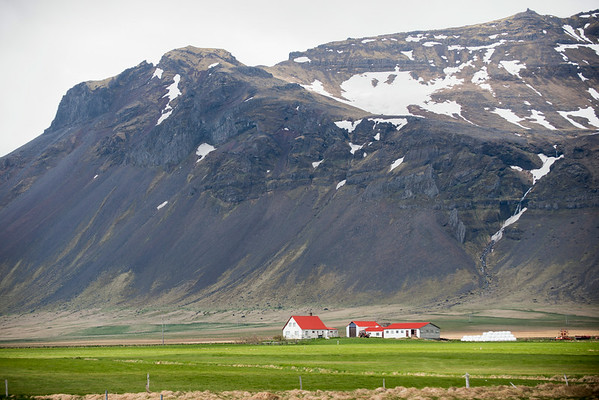 Small Farm on the way to Akureyri