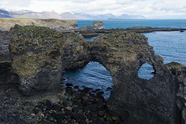 Arnarstapi Arch - Snæfellsnes Peninsula, Iceland
