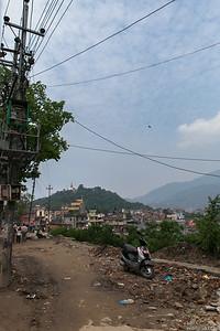 Side Road to Swayambhunath