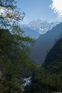 Mountains and River