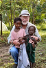 The little girl in the pink top became my special friend – and what a sweetheart she was!  Whenever she could at the campground she would seek me out and then hold my hand as we walked around together.  She was very possessive!  Other children could approach me, but she always tightly held onto my hand.  I think the other child in this photograph must have been a younger brother or sister.  Notice her proximity to me in the previous photograph.