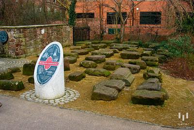 Roman Gardens, Chester, UK