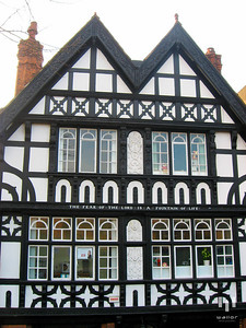 Typical architecture in Chester, UK