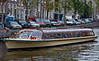 While in Amsterdam, I was waiting for James Bond to leap frog from one boat to another....
