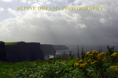 Cliffs of Moher in Sunshine