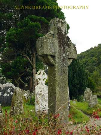 Celtic Crosses in Glendalough