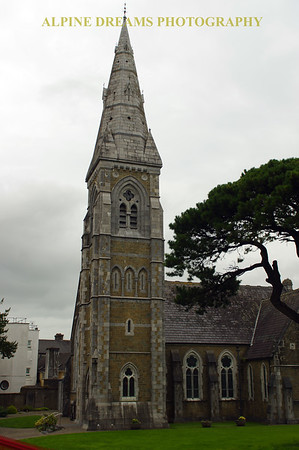 Church Steeple in Kilarney