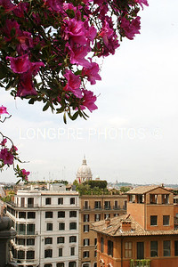 View from SPANISH STEPS.