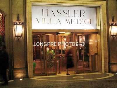 HOTEL HASSLER 'Villa Medici'  top of SPANISH STEPS