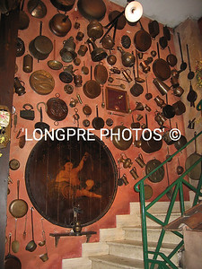 Copper items at ALLA RAMPA