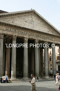 PANTHEON front of building.