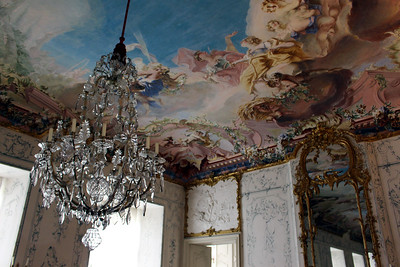 The White Hall with its ceiling painted by Giuseppe Appiani