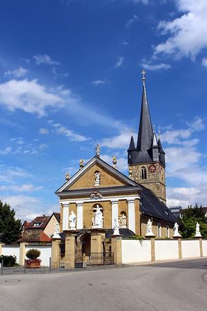 Maria Himmelfahrt church in Memmelsdorf