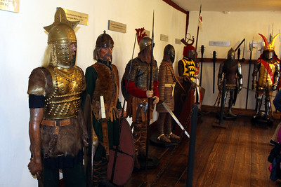 display of armor through the years