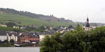 more Rudesheim - with the Benedictine Abbey of St. Hildegard in the background