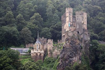 Rheinstein Castle - constructed in about 1316/1317